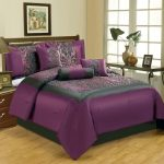 Floral Dark Purple Bedding Sets