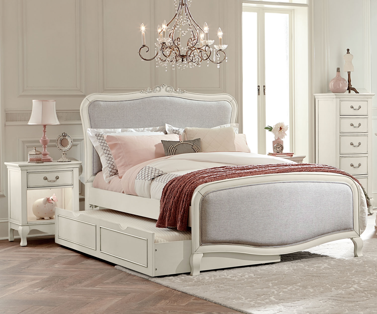 Image of: Full Bed with Trundle Ideas