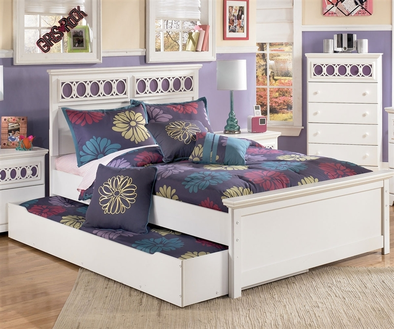 Image of: Full Bed with Trundle Style