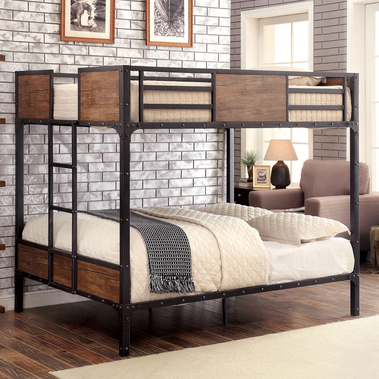 Image of: Full Bunk Bed Design