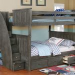 Full Bunk Bed with Storage