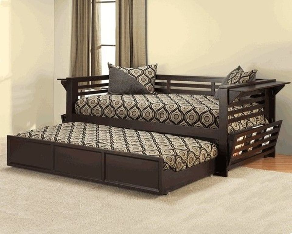Image of: Full Size Trundle Bed Design