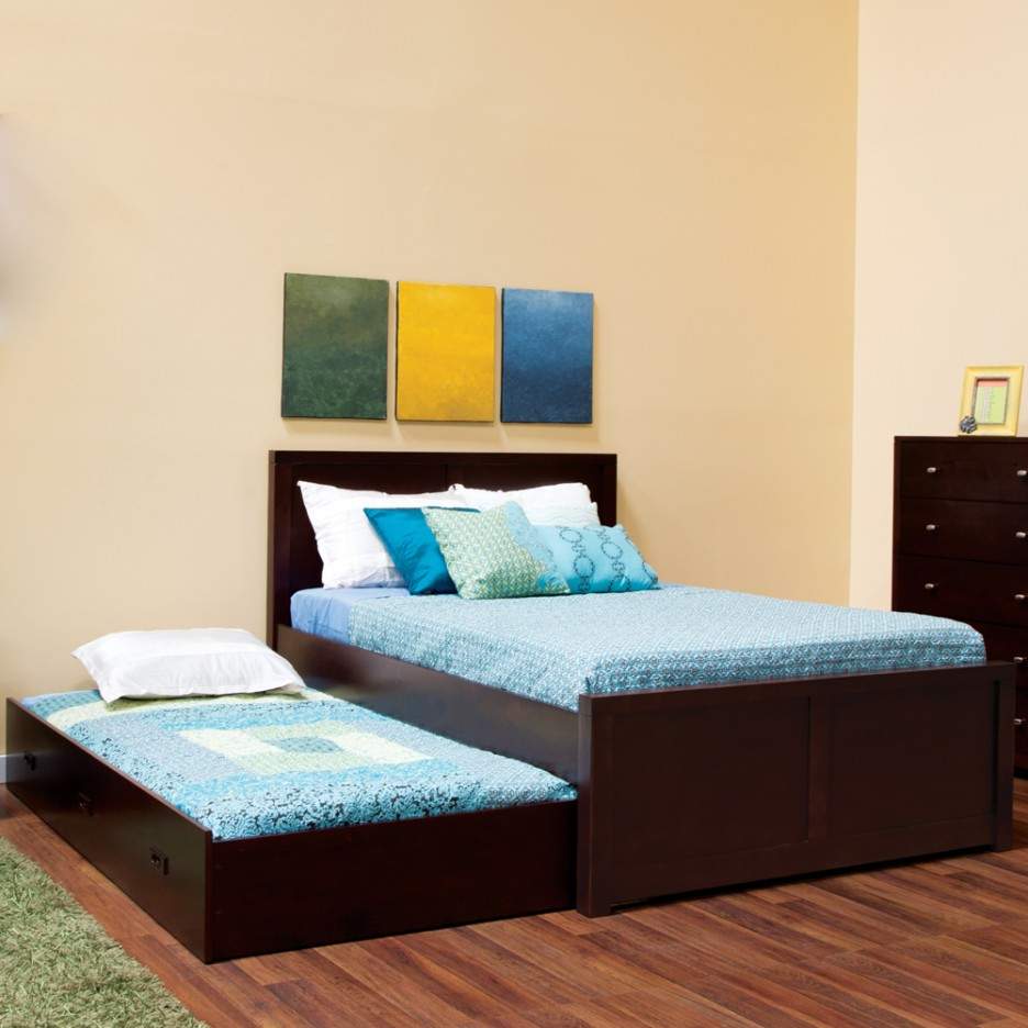 Image of: Full Size Trundle Bed Idea