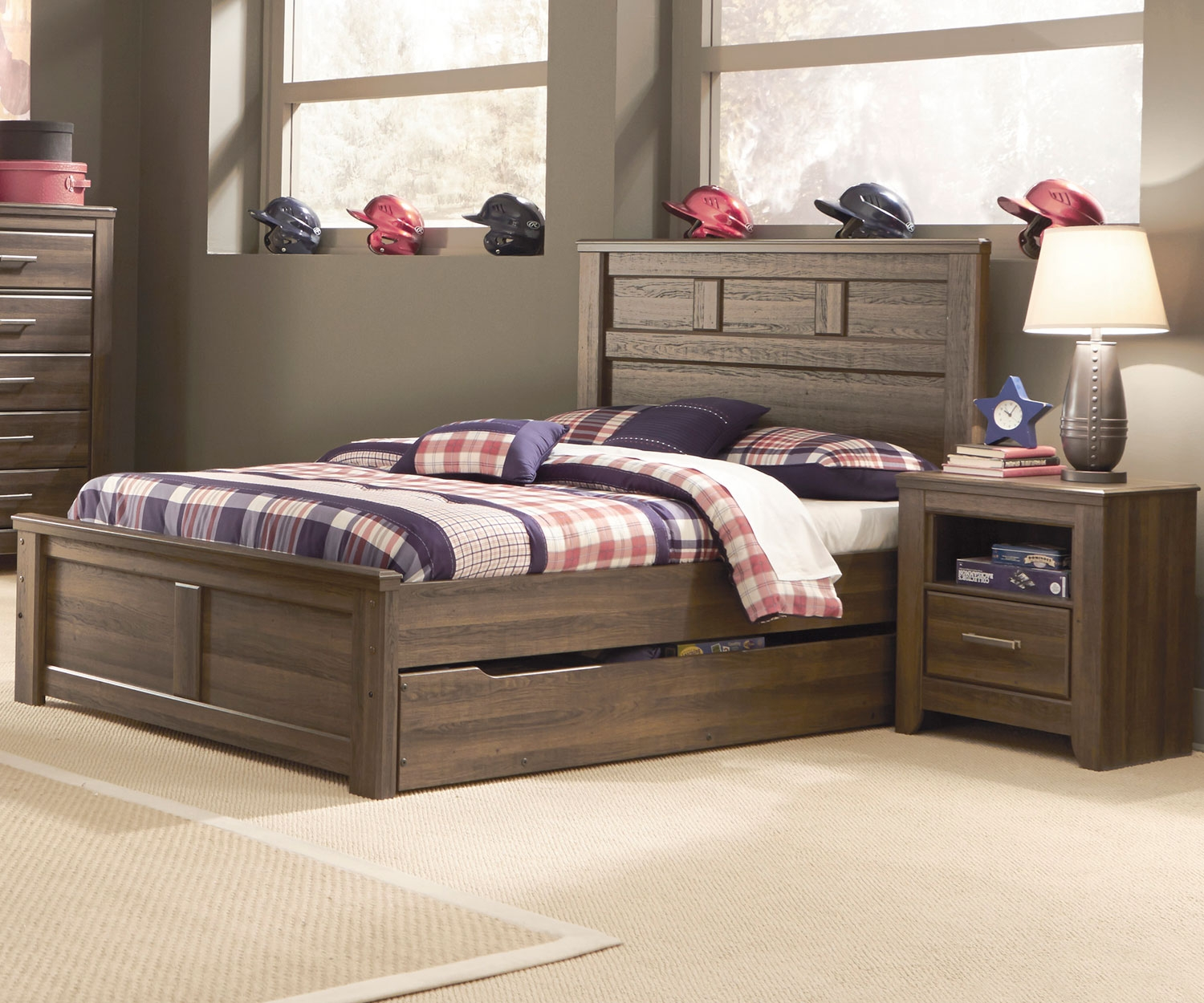 Image of: Full Size Trundle Bed Ideas