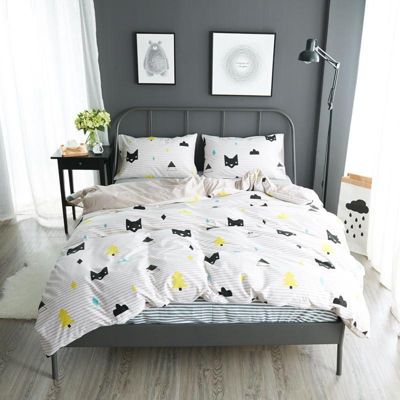 Image of: Funny Cat Bedding Sets
