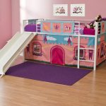 Girls Curtain Set For Loft Bed
