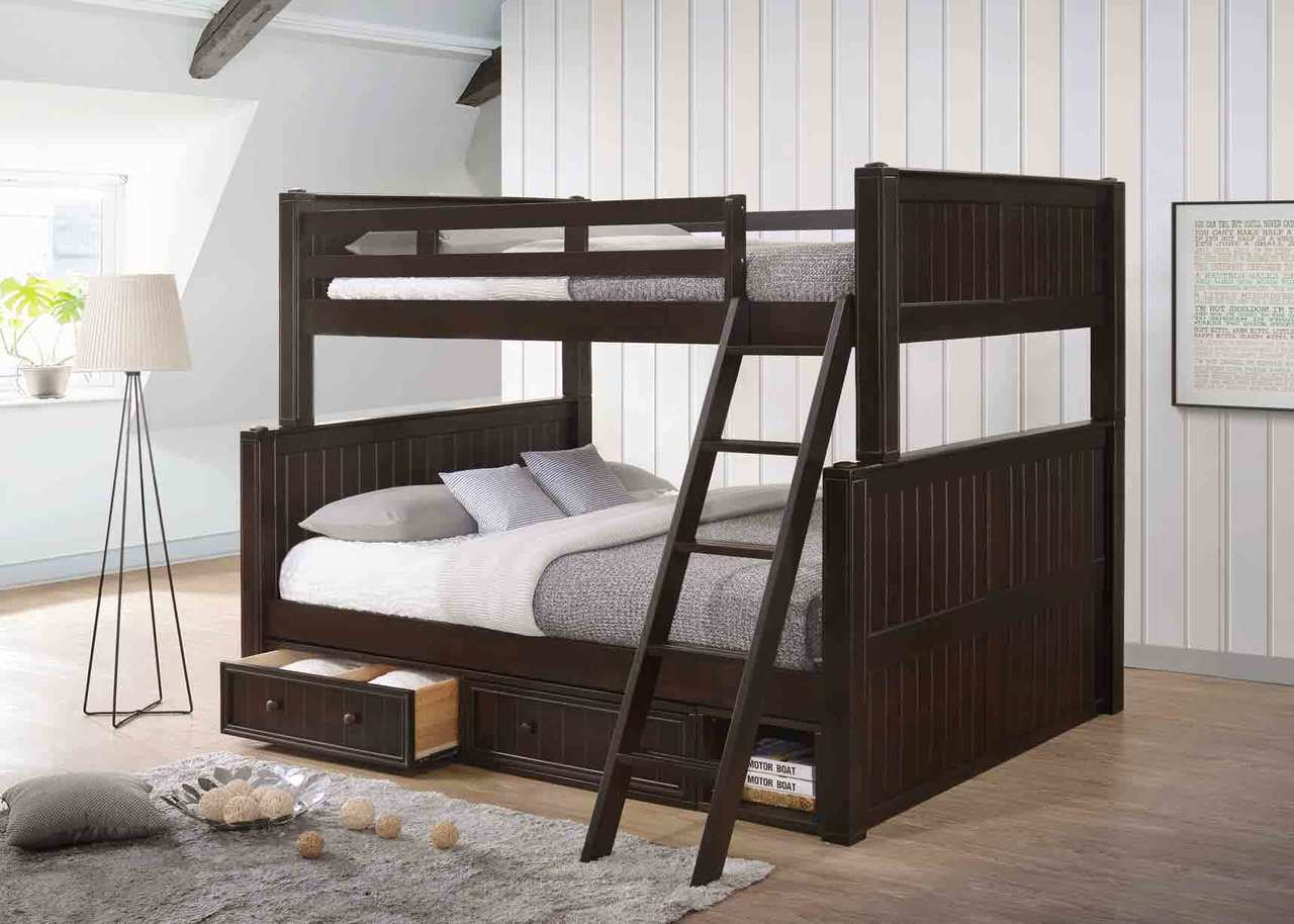 Image of: Good Queen Bunk Beds for Adults Ideas