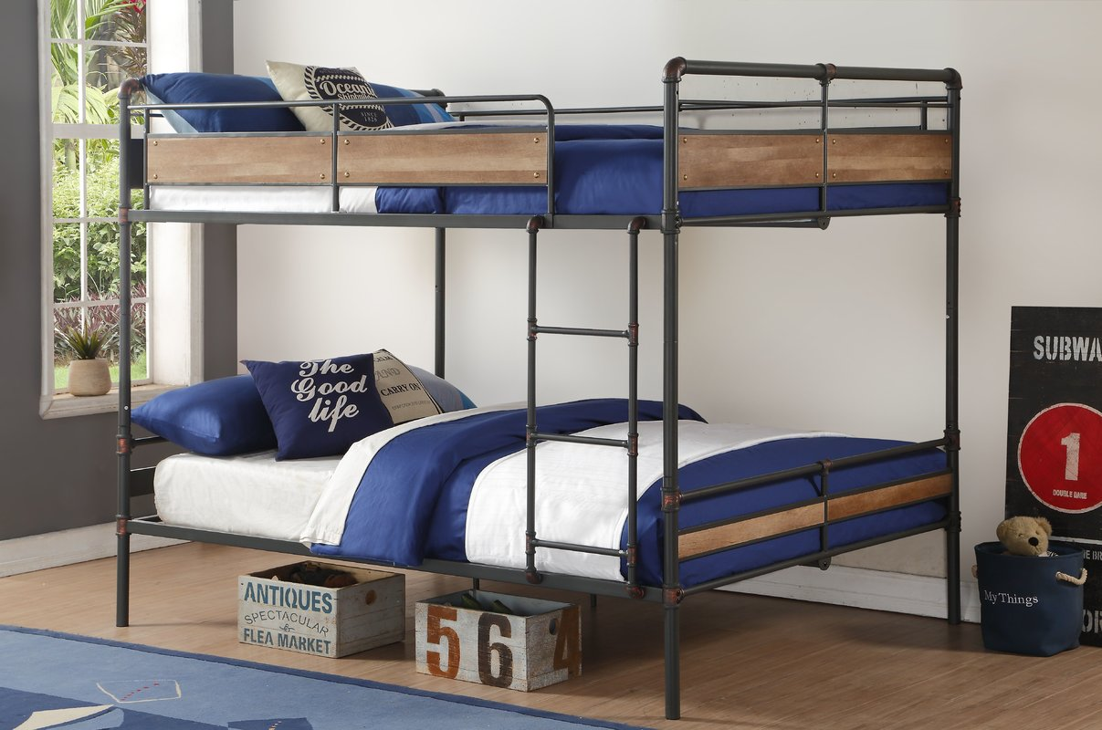 Image of: Good Queen Bunk Beds for Adults