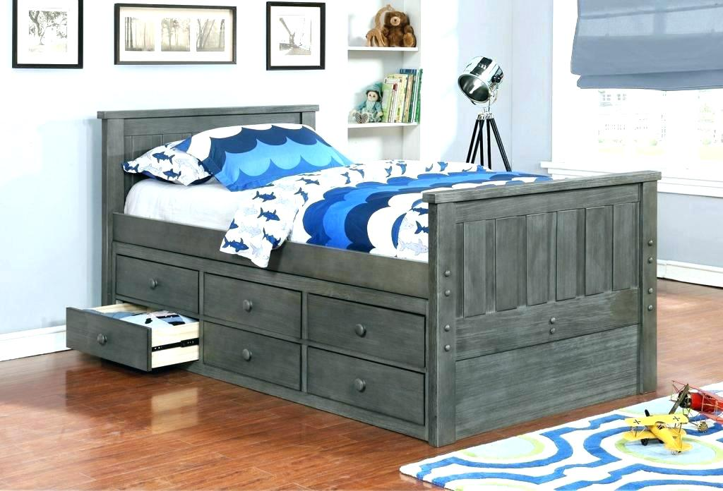 Image of: Good Twin Trundle Bed