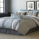Great Blue And Grey Bedding Sets