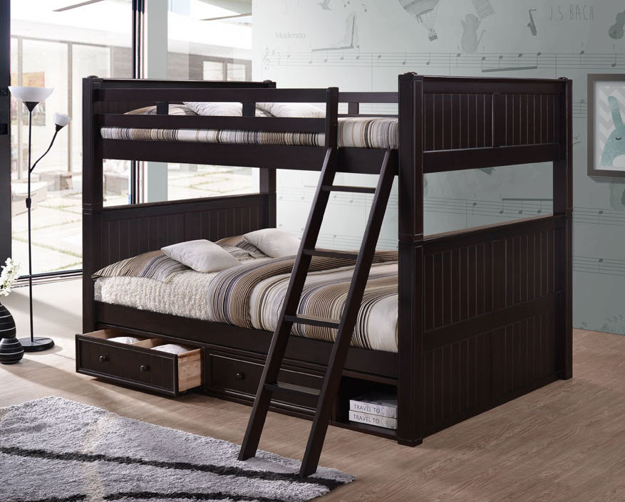 Image of: Great Queen Bunk Beds for Adults