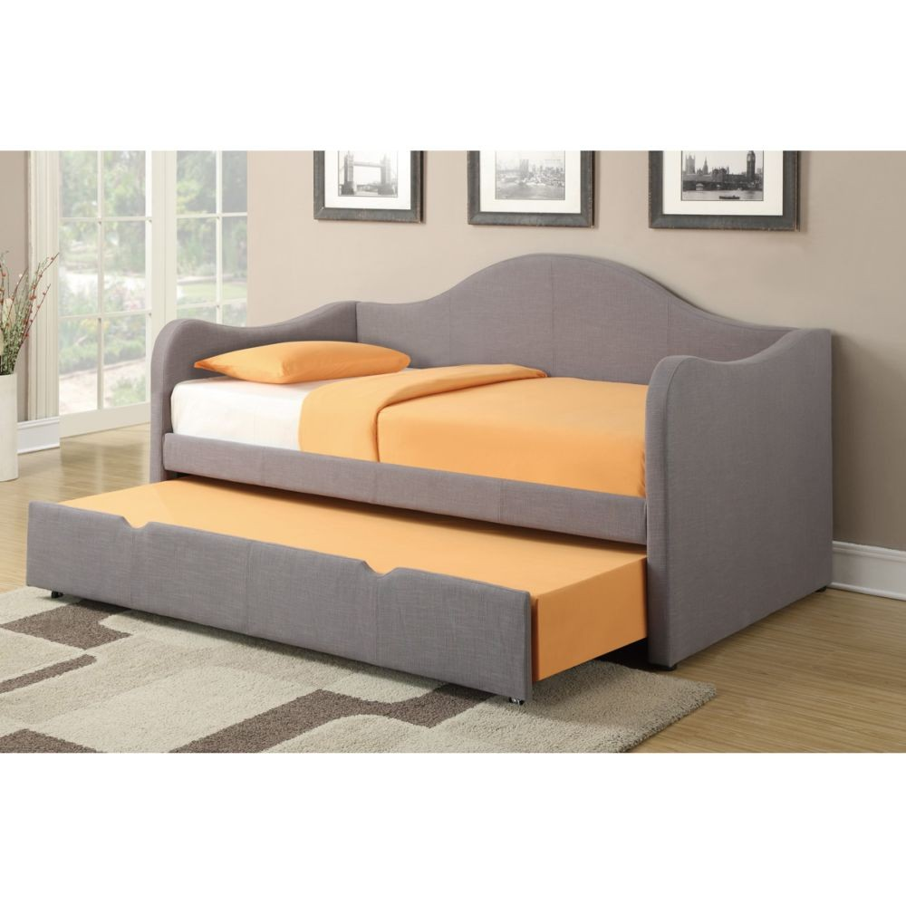 Image of: Grey Day Beds with Trundle