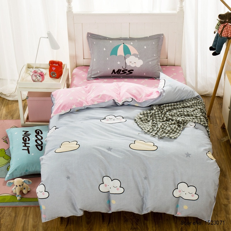Image of: Ideas Cloud Bedding Set