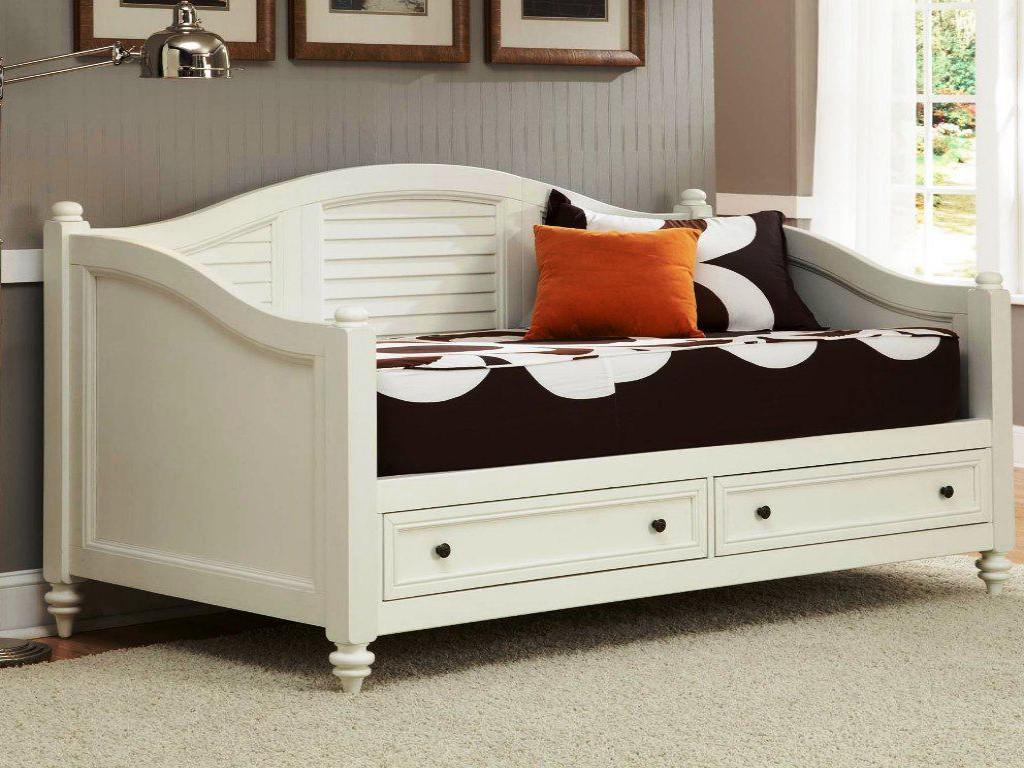 Image of: Ideas Trundle Day Bed