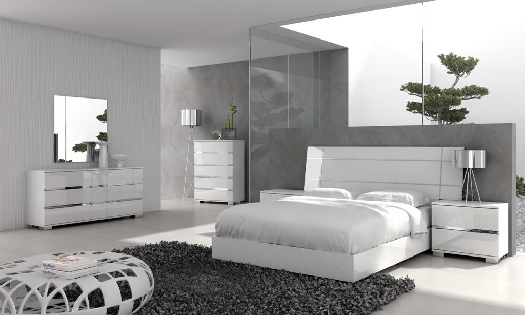 Image of: Inspiration Contemporary Bed Sets