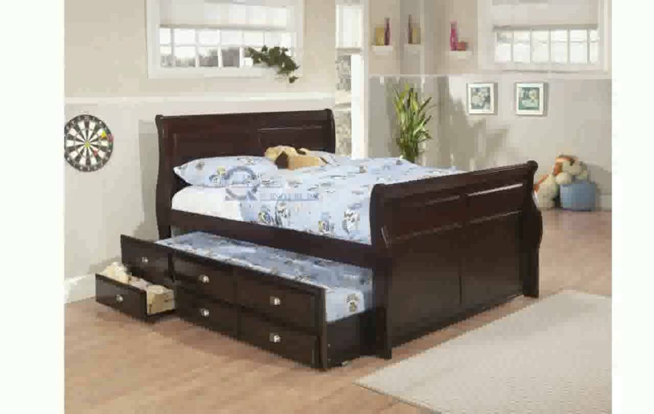 Image of: Inspiring Full Trundle Bed