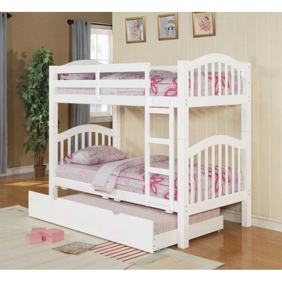 Image of: Kids Bunk Bed With Trundle