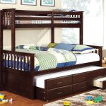 Kids Queen Bed with Trundle