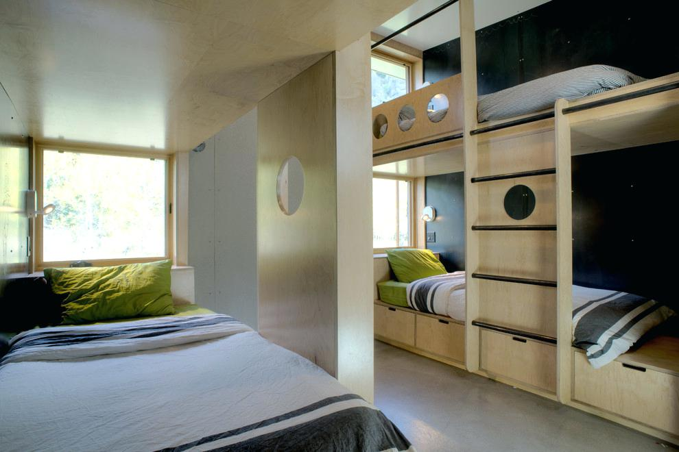 Image of: Ladder Ideas Rv With Bunk Beds