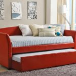Leather Day Beds with Trundle