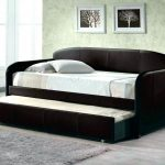 Leather Pop Up Trundle Bed