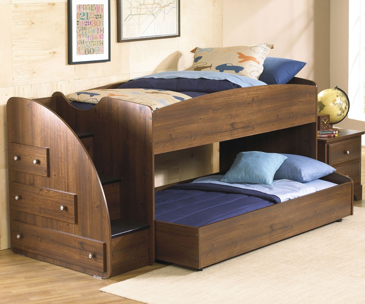 Image of: Loft Bed with Trundle Design