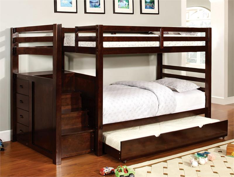 Image of: Loft Bed with Trundle Idea