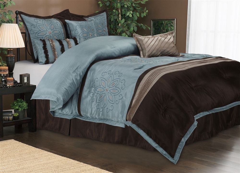 Image of: Luxury Brown Bed Sets