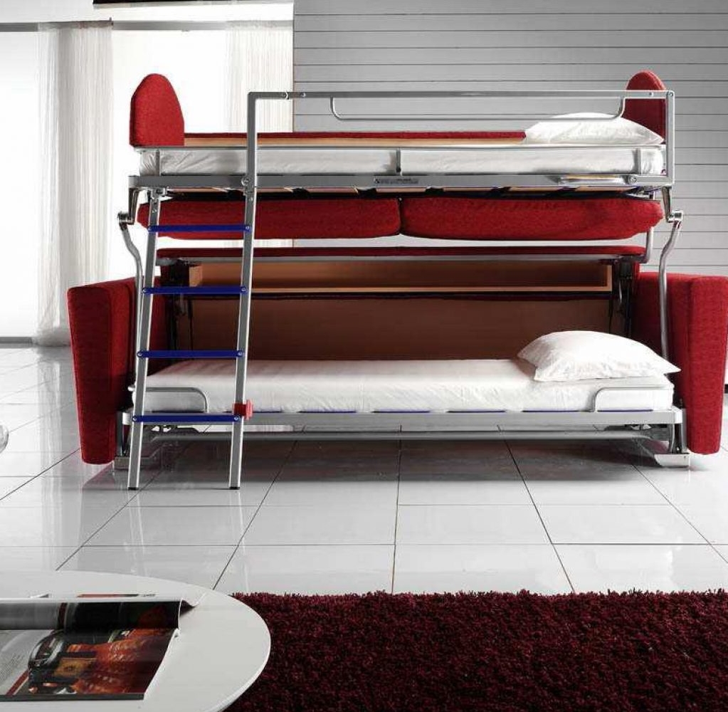 Image of: Luxury Sofa Bunk Bed Convertible