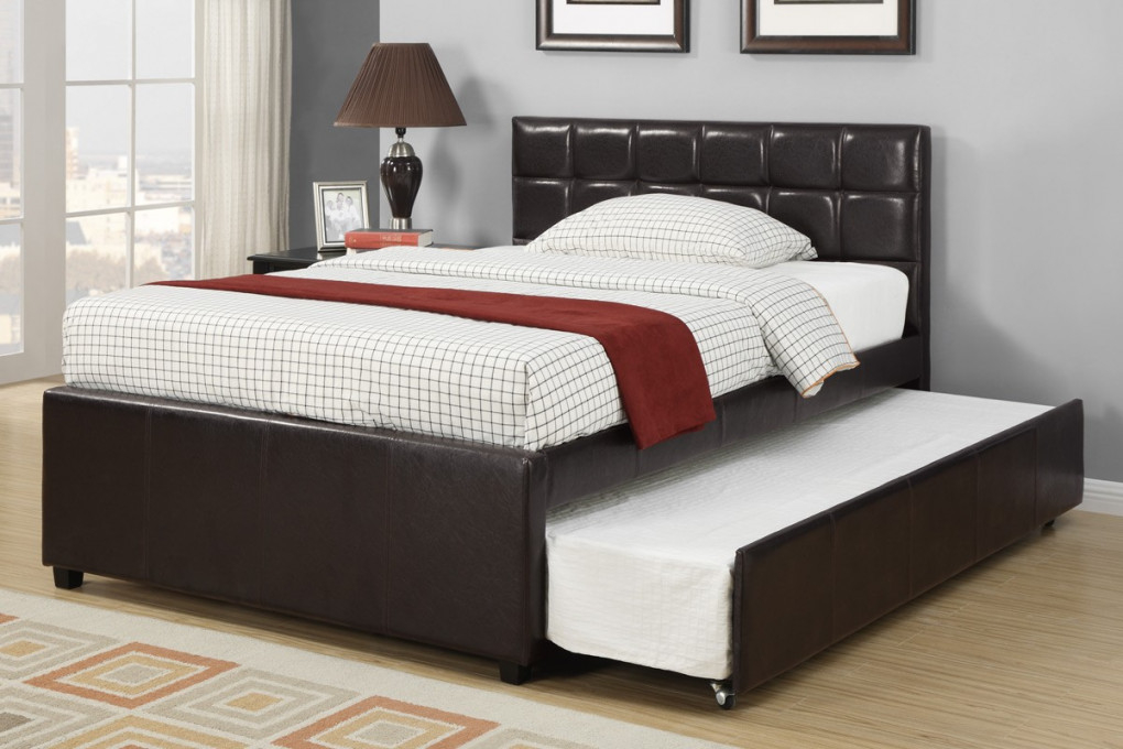 Image of: Luxury Trundle Bed Frame Trends