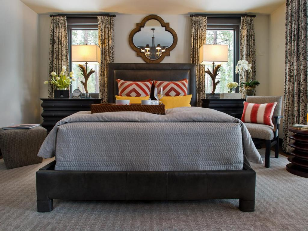 Image of: Masculine Blue And Grey Bedding Sets