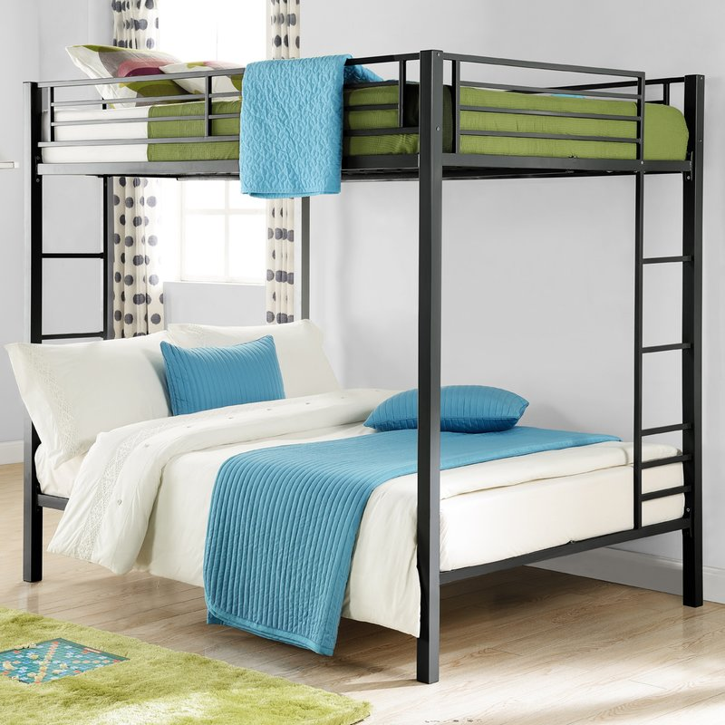 Image of: Metal Full Bunk Bed