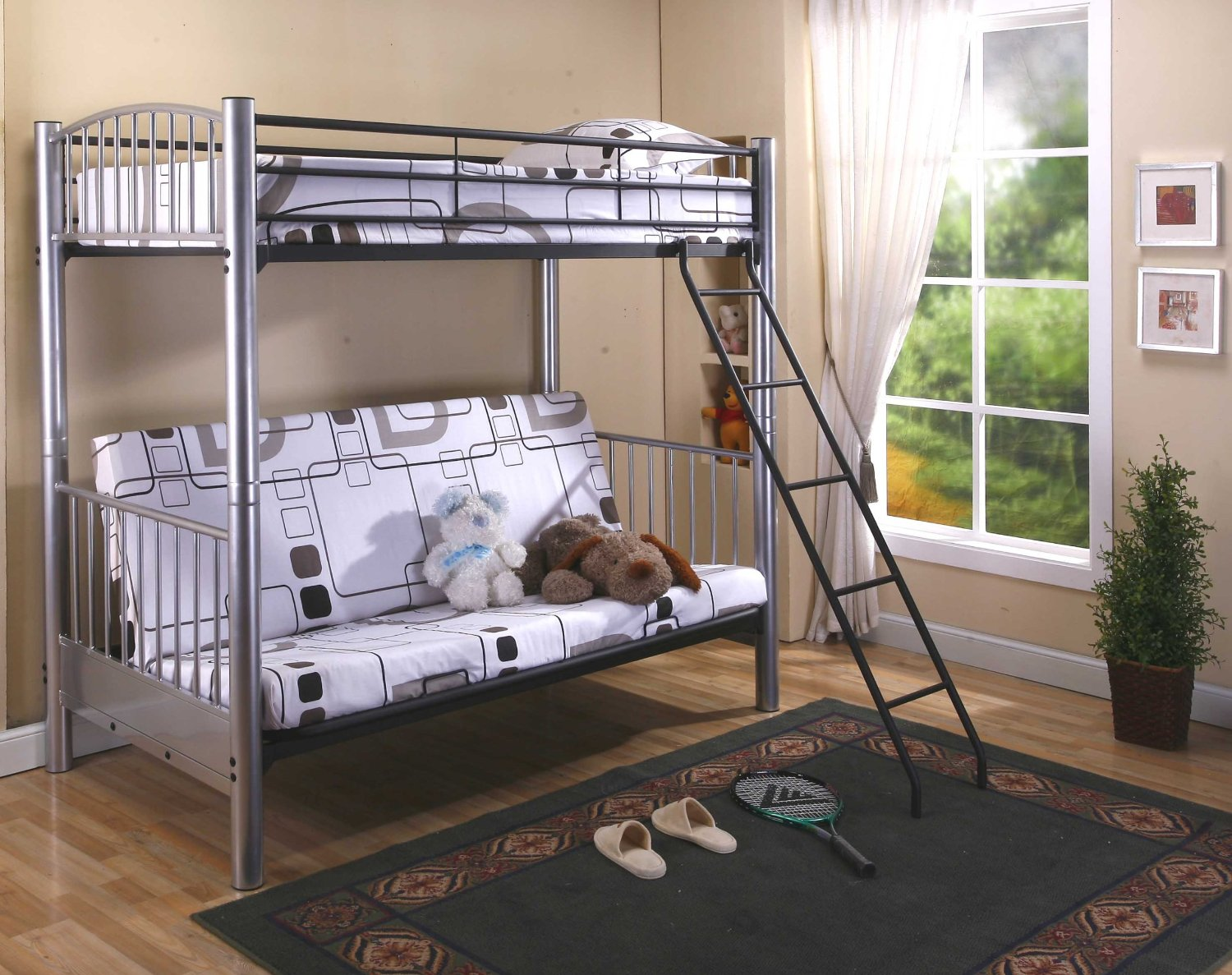 Image of: Metal Toddler Bunk Beds Ikea