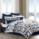 Modern Blue and White Bedding Sets