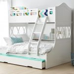 Modern Bunk Bed With Trundle