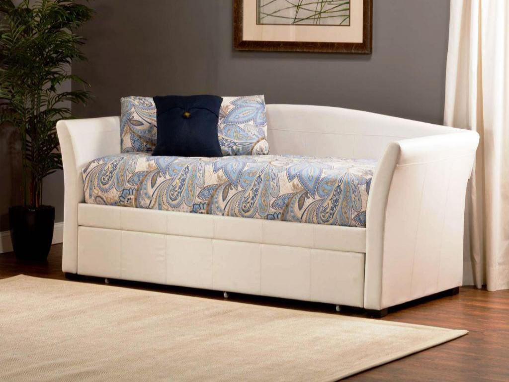 Image of: Modern Daybed With Pop Up Trundle Bed