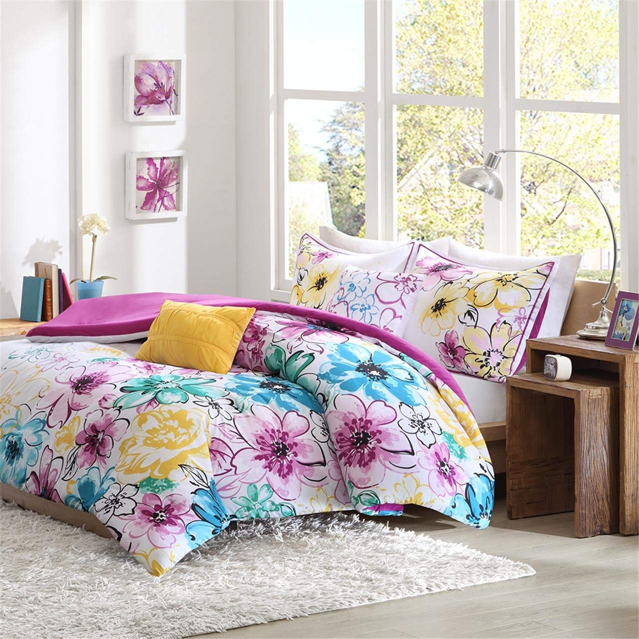 Image of: Modern Floral Bed Set