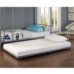 Modern Twin Trundle Bed Frame