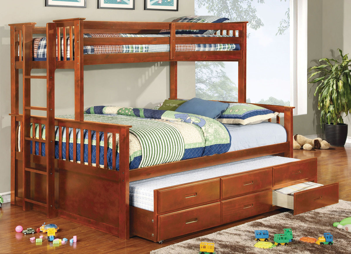 Image of: New Queen Bunk Beds for Adults