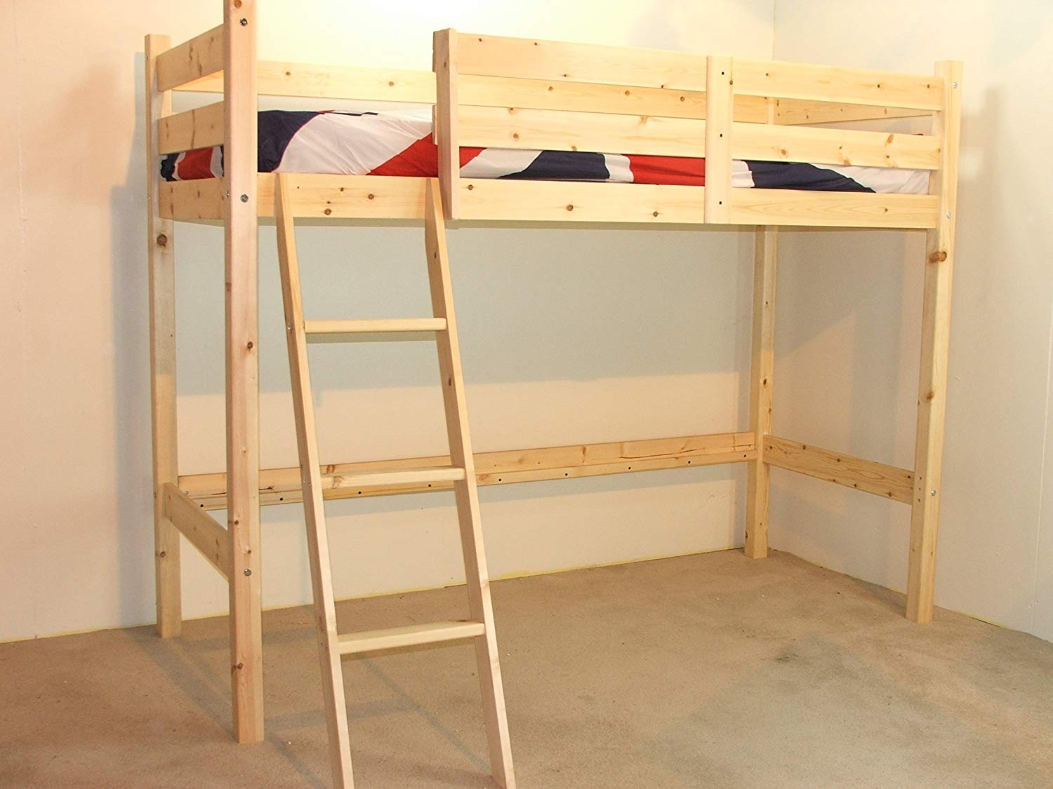Image of: New Single Bunk Bed