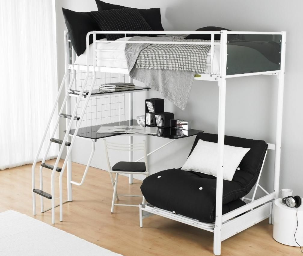 Image of: New Teen Loft Bed