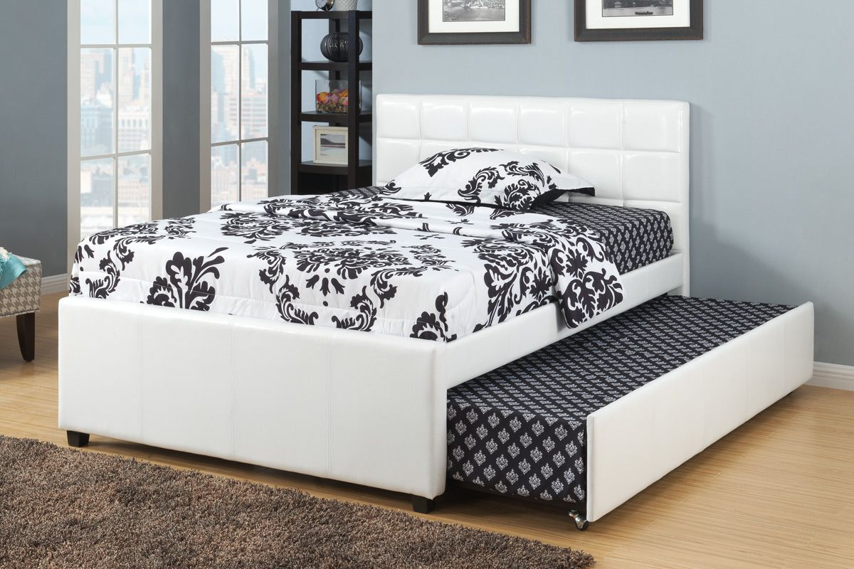 Image of: New Twin Bed with Trundle
