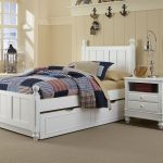 New White Trundle Bed