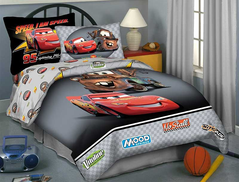 Image of: Nice Cars Bedding Set