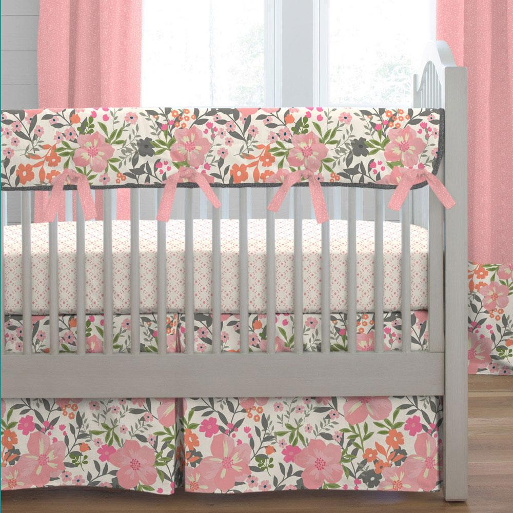 Image of: Nice Coral Baby Bedding