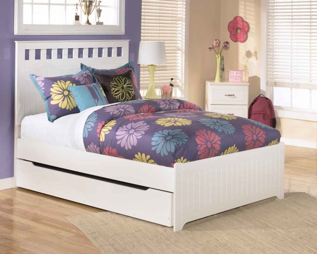 Image of: Nice Full Trundle Bed