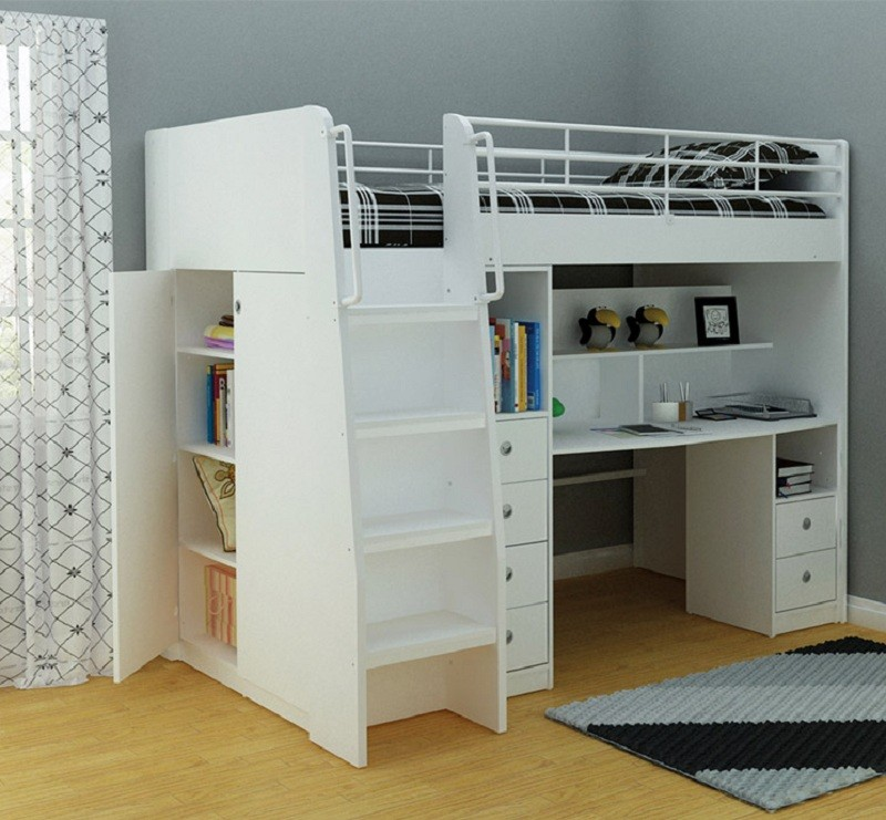 Image of: Nice Single Bunk Bed