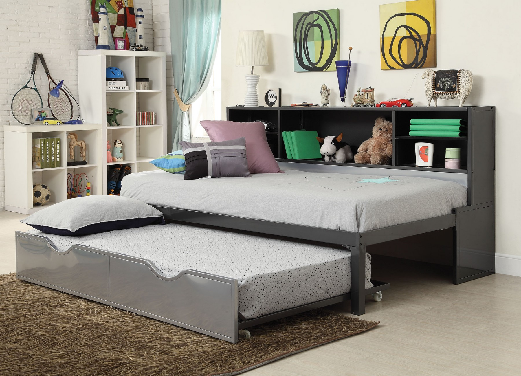 Image of: Nice Twin Bed with Trundle