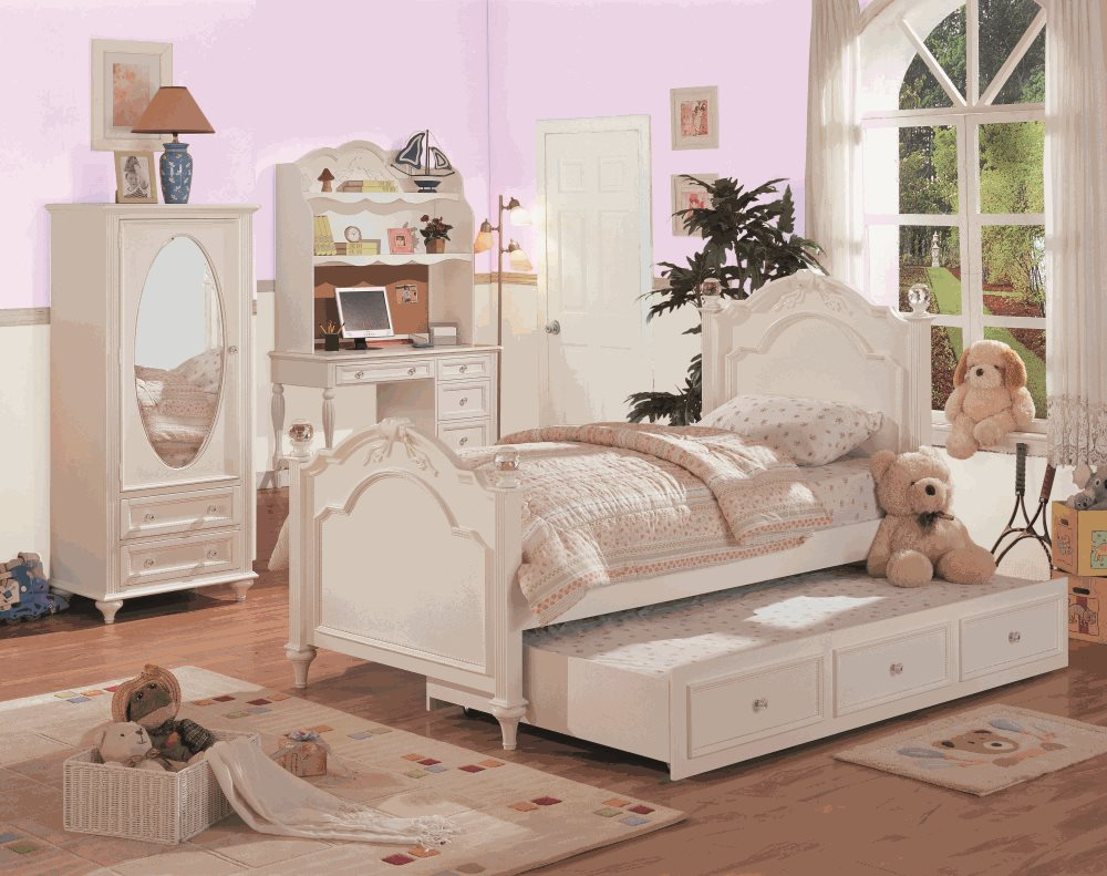 Image of: Nice Twin Trundle Bed