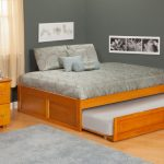 Oak Full Size Trundle Beds for Adults